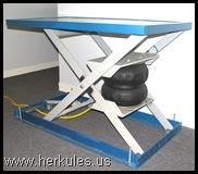 Pneumatic Lift Table Design vision lift table by bishamon Advantages V300_01