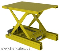 herkules belt drive electric scissor lift tables_v0648_01