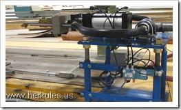 school bus conveyor lift system manufacturer v0112_03