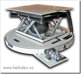 herkules ergonomic high speed power turntable with lift table v0108_01