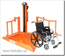 herkules handicap lifting systems wheel chair lift v0484_01