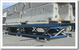 herkules right angle transfer scissor lift table conveyor v0111_01