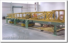 school bus conveyor lift system manufacturer v0112_01