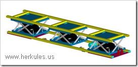 school bus conveyor lift system manufacturer v0112_04