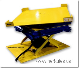 herkules air scissor lift table lift & tilt & rotate v0726_01