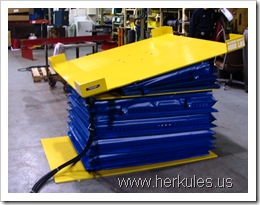 herkules air scissor lift table lift & tilt & rotate v0726_02