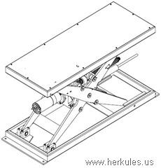ball screw scissor lift table v0597_02