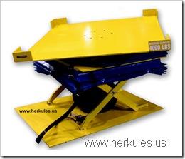 herkules air scissor lift table lift & tilt & rotate v0726_01