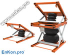 als_enkon_a_series_air_scissor_lift_table_tilt_options