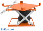 als_enkon_a_series_air_scissor_lift_table_rotate_options