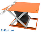 als_enkon_a_series_air_scissor_lift_table_platform_options