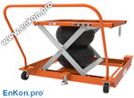 als_enkon_a_series_portable_caster_cart_options