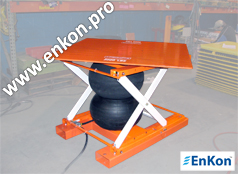 lrsa14_enkon_a_series_air_scissor_lift_and_rotate_table