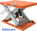 lsh08a_enkon_hydraulic_scissor_lift_table