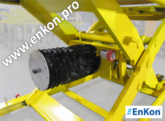 v0735_01_enkon_robot_ball_screw_scissor_lift_bellow_skirt