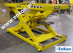 v0735_04_enkon_robot_precise_control_ball_screw_scissor_lift_table