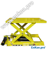 v0803_01_enkon_belt_drive_scissor_lift_table_automation_robot