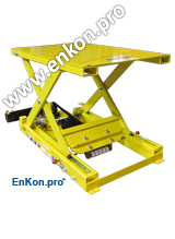 v0803_02_enkon_belt_drive_scissor_lift_table_automation_robot