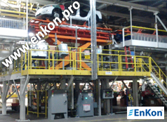 v0809_03_enkon_ball_screw_scissor_lift_automotive_assembly_line