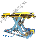v0845_08_enkon_belt_drive_precision_scissor_lift_table_conveyor