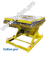 v0850_01_enkon_battery_installation_ball_screw_scissor_lift