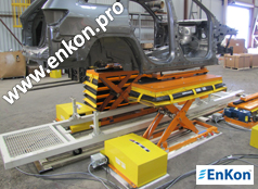 v0884_01_enkon_belt_drive_scissor_lift_table_automotive_assembly_line