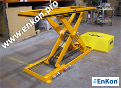 v0904_01_enkon_automated_robot_belt_drive_scissor_lift_table