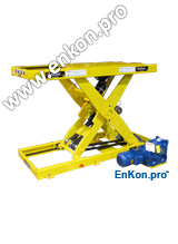 v0974_01_enkon_belt_drive_scissor_lift_table_secondary_anti_fall_cylinder