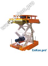 v0997_01_enkon_servo_control_ball_screw_scissor_lift_and_rotate_table