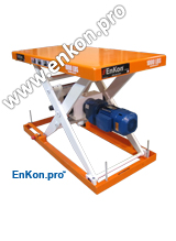 v1117_01_enkon_servomotor_robotic_ball_screw_scissor_lift_table