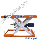 v1117_02_enkon_servomotor_robotic_ball_screw_scissor_lift_table