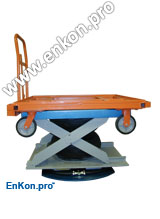 vr970_01_enkon_air_scissor_lift_table_cart_lift_rotate_system