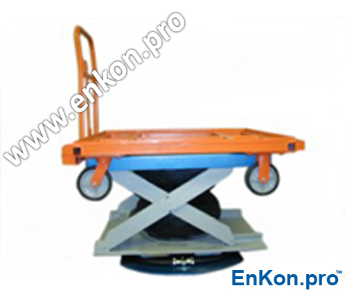 vr970_04_enkon_air_scissor_lift_table_cart_lift_rotate_system